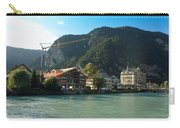 View Of Interlaken Across The Stream Carry-all Pouch