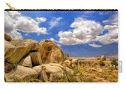 View Of Joshua Tree Carry-all Pouch