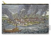 View Of Pittsburgh, 1836 Carry-all Pouch by Granger