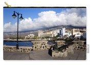 View Of Puerto De La Cruz From Plaza De Europa Carry-all Pouch