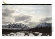 View Of Quill Creek In Kluane National Carry-all Pouch