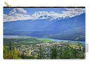 View Of Revelstoke In British Columbia Carry-all Pouch by Elena Elisseeva