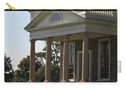 View Of South Portico At Poplar Forest Carry-all Pouch