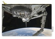 View Of Space Shuttle Discovery Carry-all Pouch by Stocktrek Images