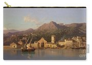 View Of Taormina Sicily Carry-all Pouch