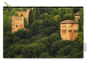 View Of The Alhambra In Spain Carry-all Pouch