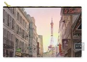 View On Eiffel Tower From Rue Saint Dominique Paris France Carry-all Pouch