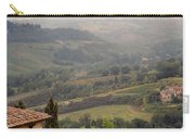 View Over The Tuscan Hills From San Gimignano Italy Carry-all Pouch