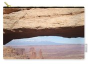 View Through Mesa Arch Carry-all Pouch