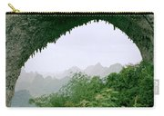 View Through Moon Hill In Guangxi In China Carry-all Pouch