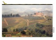 Villa On A Hill In Tuscany Carry-all Pouch