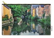 Village Reflections In Luxembourg II Carry-all Pouch