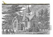 Village Schoolhouse, C1840 Carry-all Pouch