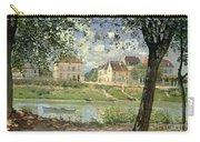 Villeneuve La Garenne Carry-all Pouch by Alfred Sisley