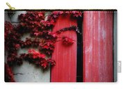 Vines On Red Shutters Carry-all Pouch