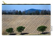 Vineyard On A Hill With Trees Carry-all Pouch