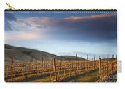 Vineyard Storm Carry-all Pouch by Mike  Dawson