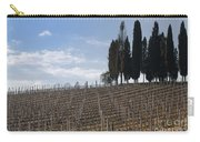 Vineyard With Cypress Trees Carry-all Pouch