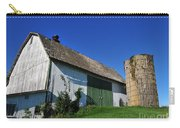 Vintage American Barn And Silo 1 Of 2 Carry-all Pouch