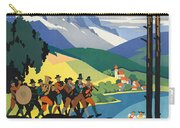 Vintage Austrian Travel Poster Carry-all Pouch