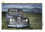 Vintage Auto On The Prairie Carry-all Pouch