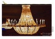 Vintage Ballroom Chandalier Fractal Carry-all Pouch