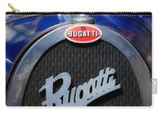Vintage Bugatti Carry-all Pouch