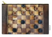 Vintage Checkers Game Carry-all Pouch