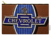 Vintage Chevrolet Emblem Carry-all Pouch
