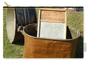Vintage Copper Wash Tub Carry-all Pouch