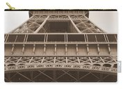 Vintage Eiffel Tower Carry-all Pouch