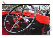 Vintage Ford - Steering Wheel... Controls - Circa 1920s Carry-all Pouch by Kaye Menner