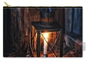Vintage Lantern In A Barn Carry-all Pouch