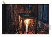 Vintage Lantern In A Barn Carry-all Pouch by Jill Battaglia