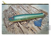 Vintage Lido Flaptail Saltwater Fishing Lure Carry-all Pouch