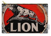 Vintage Lion Oil Sign Carry-all Pouch
