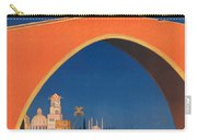 Vintage Mediterranean Travel Poster Carry-all Pouch