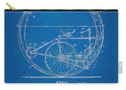 Vintage Monocycle Patent Artwork 1894 Carry-all Pouch by Nikki Marie Smith