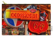 Vintage Neon Sign Oldsmobile Carry-all Pouch