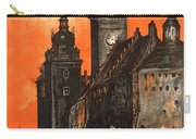 Vintage Poland Travel Poster Carry-all Pouch