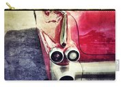 Vintage Red Car Carry-all Pouch