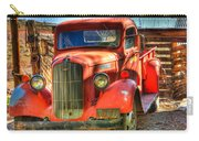 Vintage Red Dodge Carry-all Pouch