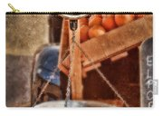 Vintage Scale At Fruitstand Carry-all Pouch by Jill Battaglia