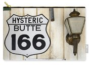 Vintage Sign Hysteric Butte 166 Carry-all Pouch