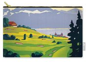 Vintage Switzerland Travel Poster Carry-all Pouch