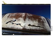 Vintage Vehicle Left To Rust In Readlyn Saskatchewan Carry-all Pouch