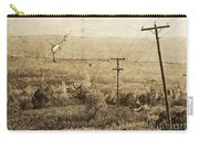 Vintage View Of Ontario Fields Carry-all Pouch