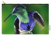 Violet-crowned Woodnymph Thalurania Carry-all Pouch