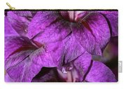 Violet Glads Carry-all Pouch