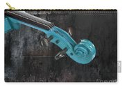 Violinelle - Turquoise 05a2 Carry-all Pouch